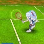 白猫テニス ロブ打ちマフユ先生1