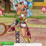 白猫テニス ニャッシュ  セフィ